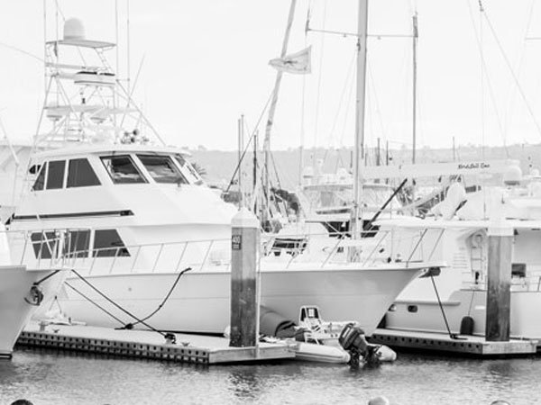 Image of boats in San Diego Harbor
