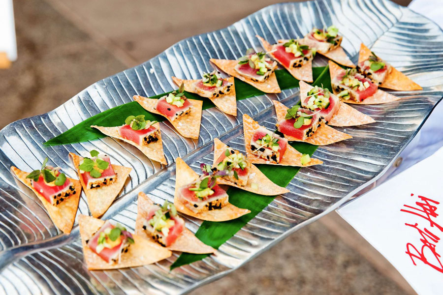 tuna and crackers appetizers
