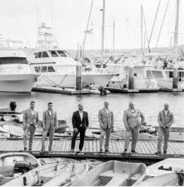Men on a dock